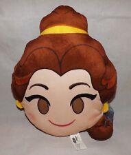 Disney Emoji Soft Plush Pillow - New - Belle