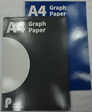 A4 Pennine U.Draw Stationery Maths Pad Graph Paper 20mm 5mm  70gsm 100 pages