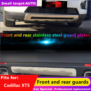 fits for Cadillac XT5 2016-2019 bumper board guard skid bar stainless steel