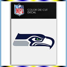 """Seattle Seahawks Logo NFL Die Cut Vinyl Sticker Car Bumper Window 1.8""""x4"""""""