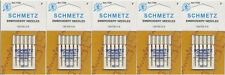 Schmetz 1720 Embroidery Sewing Machine Needles 130/705H-E 15x1 Size 90/14 5 pack
