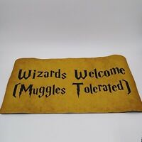 Wizards Welcome Muggles Tolerated Doormat