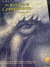 Call of Cthulhu Horror RPG 1920's Keeper's Compendium Chaosium