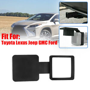 """2"""" Trailer Tow Hitch Receiver Cover Plug Dust Cap For Toyota Lexus Jeep Ford GMC"""