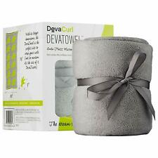 Devacurl Towel; Microfiber Anti-Frizz Towel; Gray