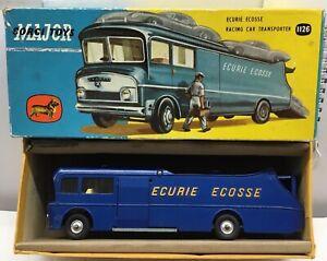 CORGI 1126 ECURIE ECOSSE RACING CAR TRANSPORTER .EXCELLENT IN ORIGINAL  BOX