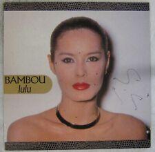 Bambou interprète Serge Gainsbourg Maxi 45 tours Lulu 1986