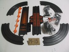 afx tomy aw slot car track parts lot ho 1/64 scale in nice condition!!