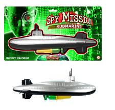 Spy Mission 35cm Diving Submarine Childrens Bath Toy Tub Paddling Pool TY9159