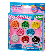 Aquabeads Solid Bead Refill Pack 79168 Over 800 Beads