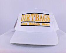 hot sale online cab54 9effb VTG Long Beach State Dirtbags NCAA Retro Vintage Bar Cap Snapback Hat NEW G  Cap