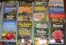 Gardening Home Improvement 18 book lot bathroom remodel pruning swimming pool