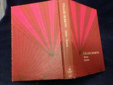 College Geometry by Edwin E. Moise & Floyd L. Downs, Jr. (1971) G HB 191122