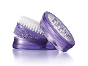 2 pack Avon Foot Works Pedicure tool purple New sealed ALL-IN-1 pumice file smoo