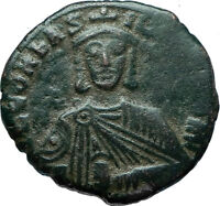 LEO VI the WISE 886AD Constantinople Follis Medieval Byzantine Coin i66052