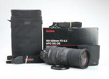 Nikon Sigma 150-500 mm 5.0-6.3 DG OS HSM + très bien (225331)