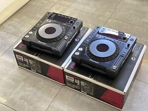 2 X Pioneer CDJ-850-K DJ Multi Player