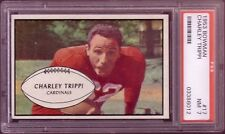 1953 BOWMAN CHARLIE TRIPPI CARD NO:17 PSA 7 NEAR MINT