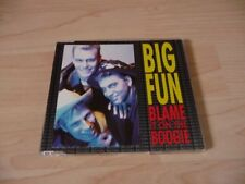 Maxi CD Big Fun - Blame it on the Boogie - 1989