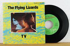 """7"""" - THE FLYING LIZARDS - TV - Tube - Virgin 101 294 // 1980"""