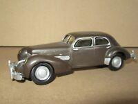 188P Rare Americana Cord 812 Berline 1937 Marron 1:43 Kit WM Monté
