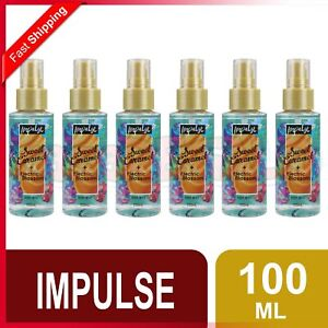 IMPULSE 100mL BODY MIST SWEET CARAMEL + ELECTRIC BLOSSOM