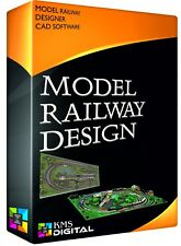 Design Build Model Railway Layout Track Plans CAD Software