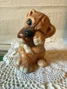 Vintage Buster Dog Figure by John Valentine 1970s Tinkerware England