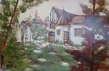 Jeanin KOSTIA BLANCHETEAU (1932-2013) HsT Ne Ecole de Paris Giverny Claude Monet