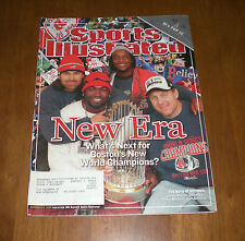 2004 BOSTON RED SOX WORLD SERIES CHAMPIONS SPORTS ILLUSTRATED
