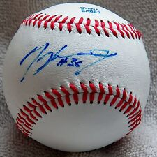 Seattle Mariners Mickey Wiswall Signed Rawlings Official League Baseball Auto