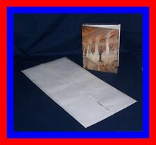 "1 (one) 14"" x 28"" Brodart ARCHIVAL Fold-on Book Jacket Cover - super clear mylar"