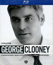 COFFRET GEORGE CLOONEY  5  bluray neuf        ref02091410