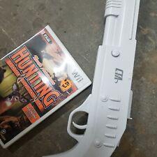 BUNDLE Nintendo Wii CTA Sure Shot Rifle & Game /  Hunting Extravaganza ***Tested