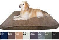 Durable XXLarge Orthopedic MEMORY MIX FOAM Pet Dog Bed Waterproof Pillow