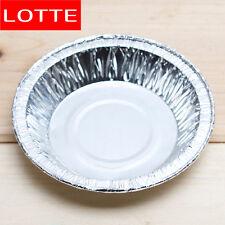 Lotte's Disposable Aluminium Plate (10cm/10 pcs) Baking Pie Pan Tart Tin Cake HA