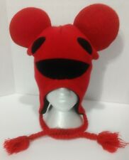 Deadmau5 Red Beanie with Ties