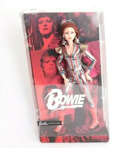 Barbie Signature Doll David Bowie Ziggy Stardust Limited Edition RARE FXD84 2019