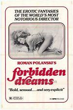 FORBIDDEN DREAMS Movie POSTER 27x40