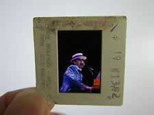 More details for original press photo slide negative - elton john - 1984 - f