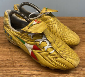 Diadora Maximus RTX14 size 8 world cup champions edition gold cleats Totti 2006