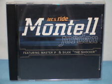 Let's Ride (Single) By Montell Jordan 1998 CD Rush Associated Labels Recordings