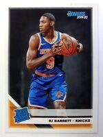 2019 Panini Donruss Rated Rookies RJ Barrett Rookie RC #203, New York Knicks