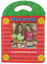 8x Polaroid Originals 600 Film Photo Album Family Story Book Storage Organizer