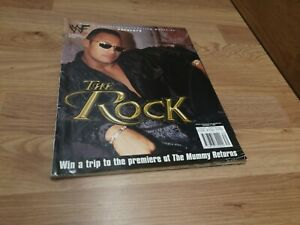 🌟WWF Official THE ROCK, limited edition Magazine🌟