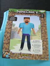 Minecraft Steve Halloween Costume Child Size S 4-6 New with mask, Dress Up