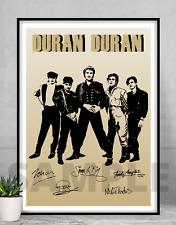 More details for duran duran poster - a4/a3 framed/unframed gift/memorabilia/art/signed #150