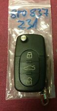 AUDI A3 2003+ 3 Buttons Remote Key FoB 8P0837231 8PO 837 231 can cut and code