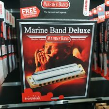 HOHNER Marine Band Deluxe Harmonica - Key of D