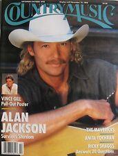 ALAN JACKSON  September 1998 COUNTRY MUSIC Magazine VINCE GILL  RICKY SKAGGS